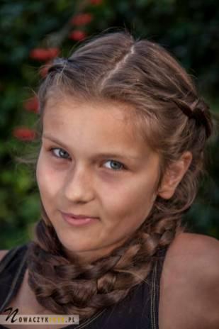 Sesja portretowa dziewczynki