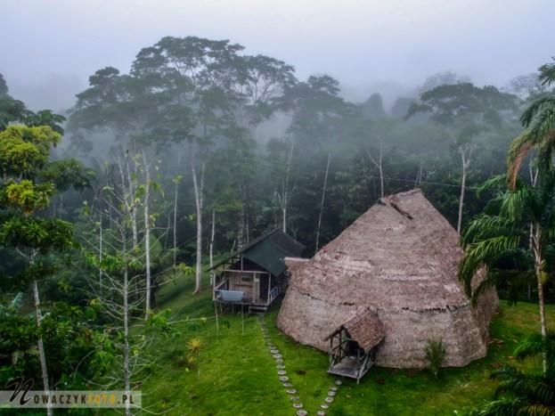Maloka w dzungli w Reserva Natural Palmari