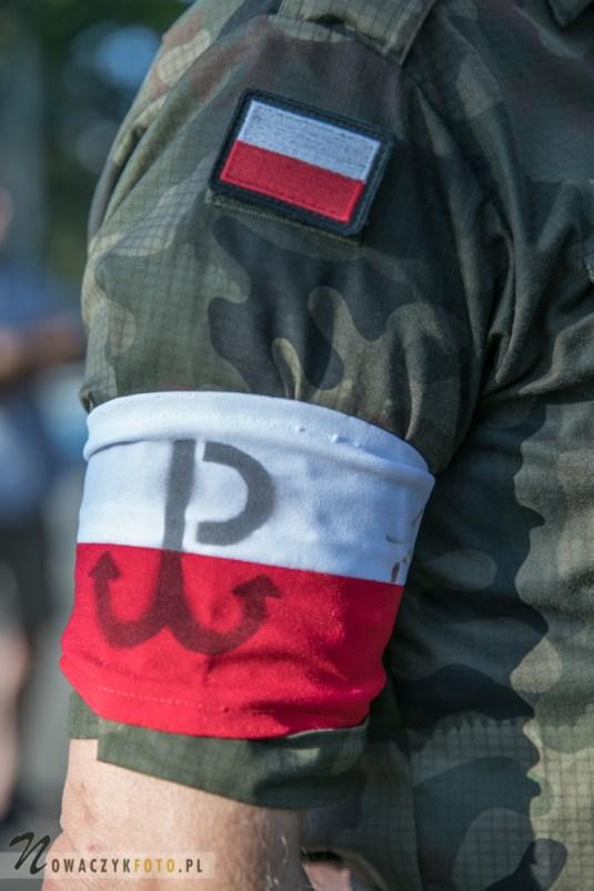 Obchody 74 rocznicy wybuchu Powstania Warszawskiego