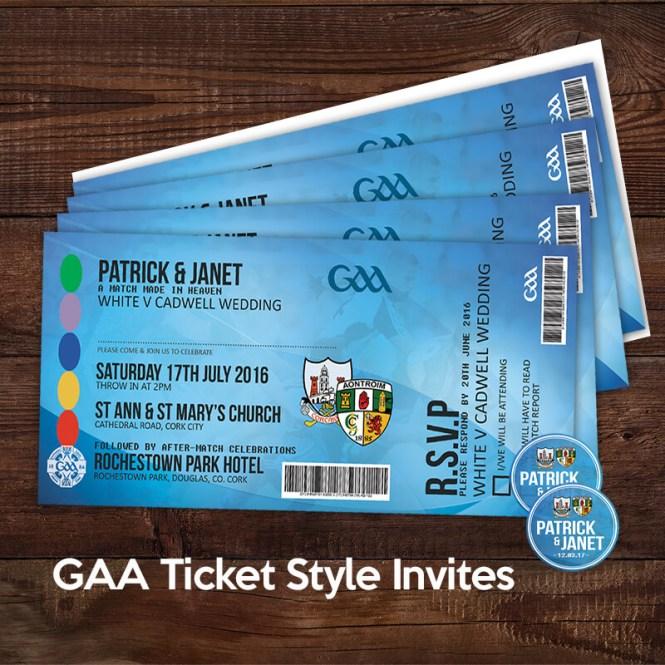 Gaa Ticket Invitation