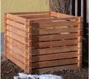 Klassischer Holzkomposter