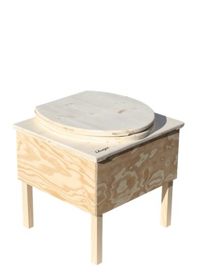 'Der Käfer' - Toilette aus Holz