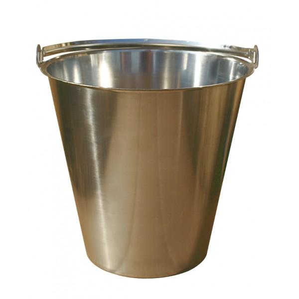 Zubehör für Innentoiletten:Eimer aus Edelstahl für Komposttoilette