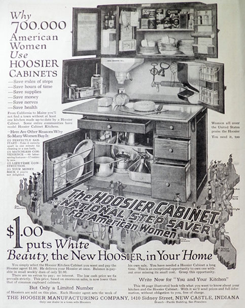 hoosier manufacturing company catalog