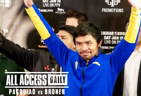 VIDEO: ALL ACCESS DAILY Pacquiao vs Broner Full Episodes