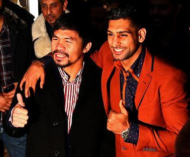 Amir Khan and Manny Pacquiao are great ambassadors of boxing