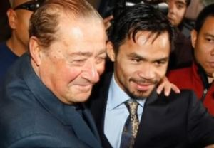 Manny Pacquiao no longer suing Bob Arum, payment issues settled