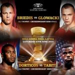 World boxing super series poster