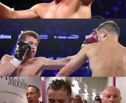 Canelo GGG post fight pics