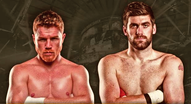 Canelo Alvarez obliterates Rocky Fielding with body punches to become WBA Champion