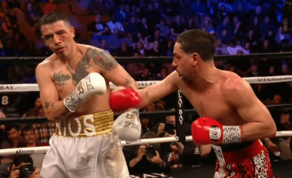 Garcia bounces back, KO's Rios in ninth round of exciting fight