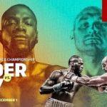 Wilder Tyson Fury image
