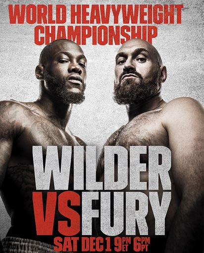 How To Watch Tyson Fury Vs Deontay Wilder Fight Live