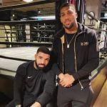 AJ with Drake