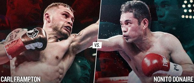 Live Nonito Donaire vs Carl Frampton Showtime International YouTube Video Stream