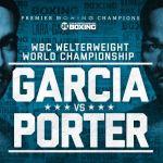 Danny Garcia vs Shawn Porter fight poster