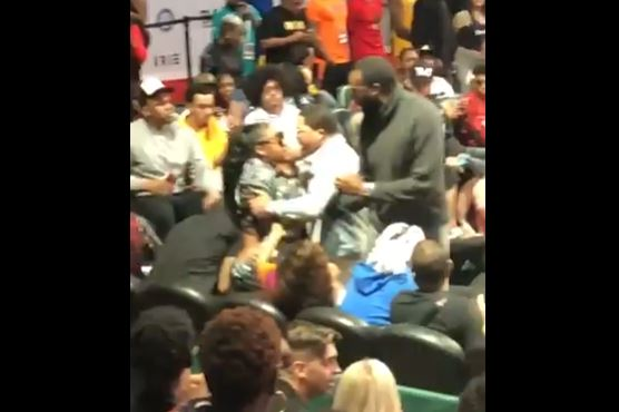 Gervonta Davis Seen Grabbing Up Baby Mother by Her Neck at Event