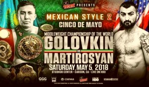 Gennady Golovkin vs Vanes Martirosyan, Cecilia Braekhus Live on HBO Boxing