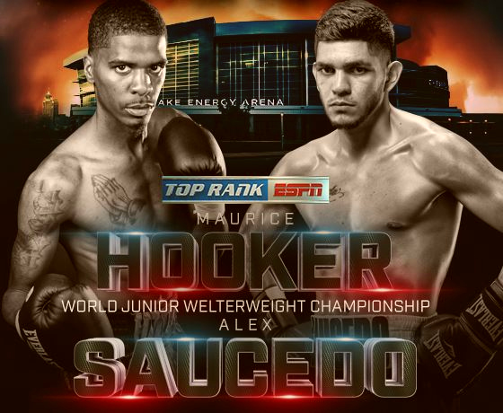 Maurice Hooker vs Alex Saucedo Live Championship Boxing on ESPN