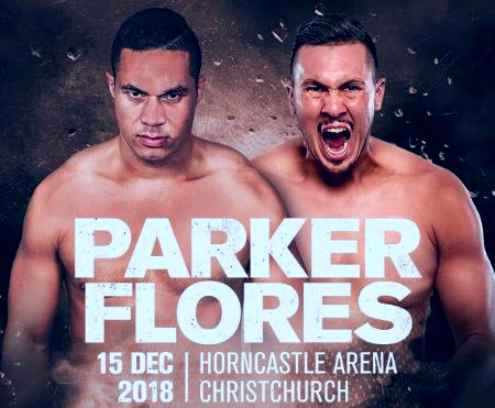 Watch Joseph Parker vs Alexander Flores, Junior Fa Live on SKY Arena