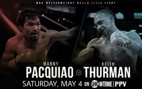 Keith Thurman urges Manny Pacquiao to sign the contract for WBA title fight
