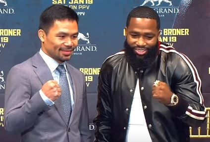 If Adrien Broner lets his hands go he can beat Manny Pacquiao