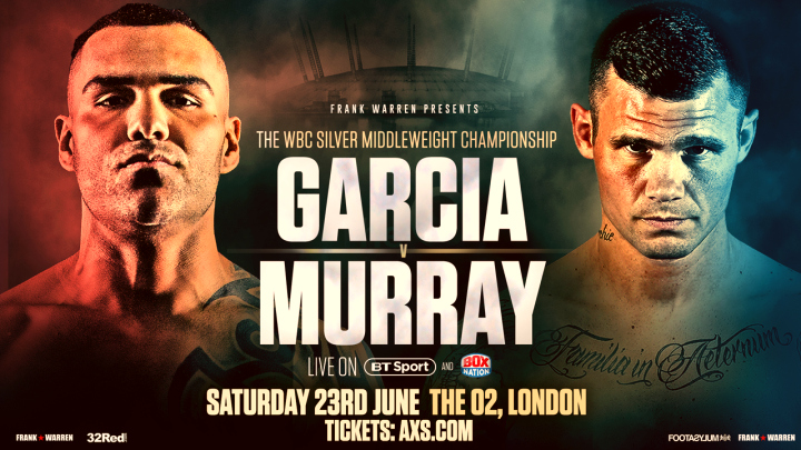 Watch Martin Murray vs Roberto Garcia Live Stream on the BoxNation To Go App