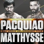 Watch Manny Pacquiao vs Lucas Matthysse Live Stream on ESPN+