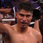 Mikey Garcia broken nose