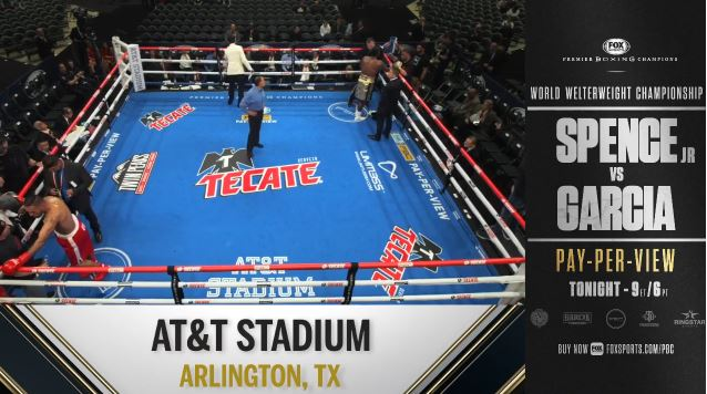 WATCH Errol Spence Jr. vs Mikey Garcia FREE Livestream Prelim Undercard