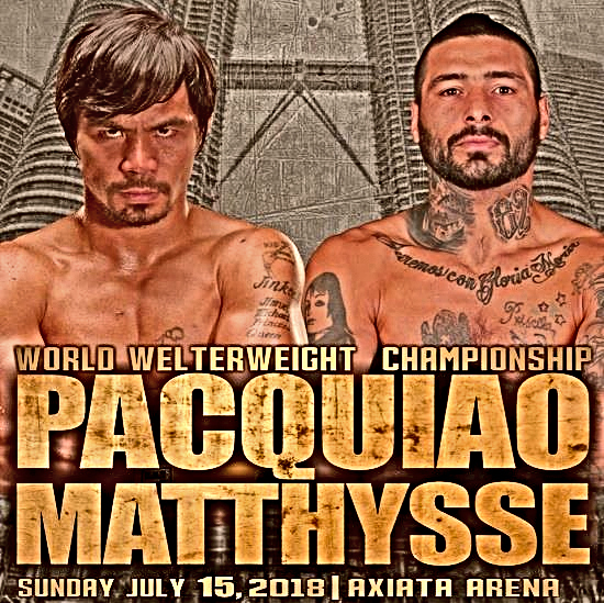 How To Watch The Pacquiao vs. Matthysse WBA Title Fight Online