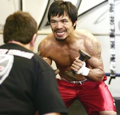 Pacquiao Mean Face