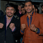 Is Amir Khan hoping Pacquiao loses so he can be the one to take Mayweather's zero?