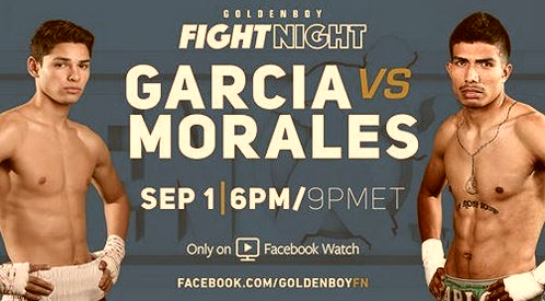 Watch Ryan Garcia vs Carlos Morales Live Stream on Facebook