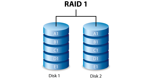 RAID 1 Data Recover Expert Solution