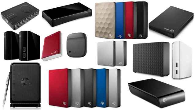Seagate Portable Hard Drives Models and Types Data Recovery