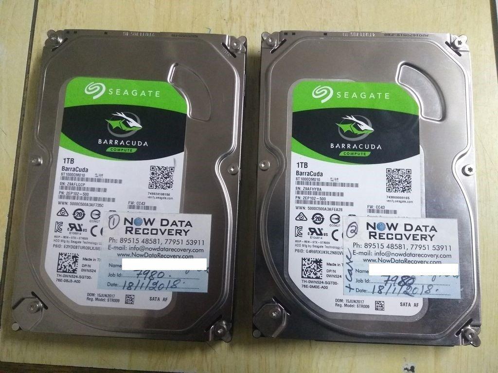 Seagate RAID 0 Data Recovery Services
