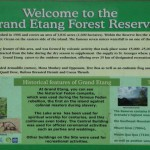 Government Denies Selling Lands in the Grand Etang Reserve