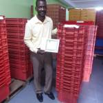 Packaging Crates Donated to Grenada Farmers