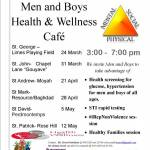 """Making a Difference for Men & Boys"" Men and Boys Health and Wellness Programme"