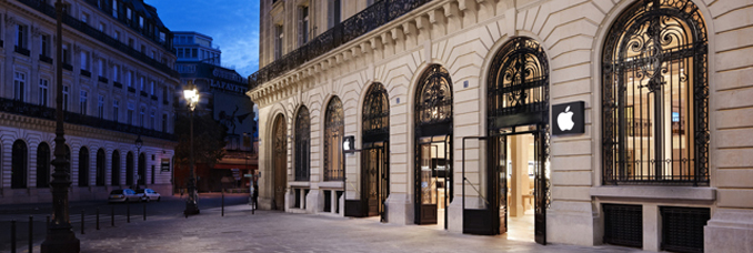 Braquage de l Apple Store Paris Op    ra   Concr    tement      a donne quoi     braquage apple store paris opera