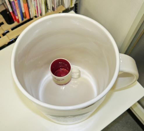 150346341663586 - 花8萬買下「巨無霸星巴克杯」,他滿懷期待捧著它去買咖啡,沒想到「店員竟然直接跟他說...」