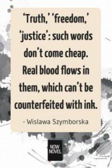 Advice from Nobel-winning authors - Wislawa Szymborska