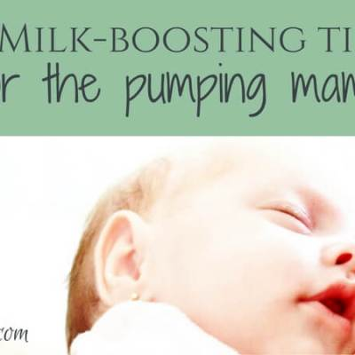 9 Milk-Boosting Tips for the Pumping Mama