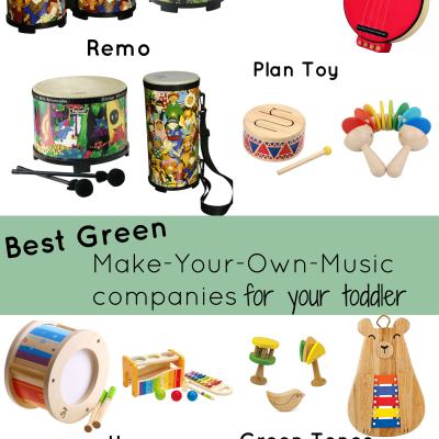 Best Green musical instrument companies for your toddler
