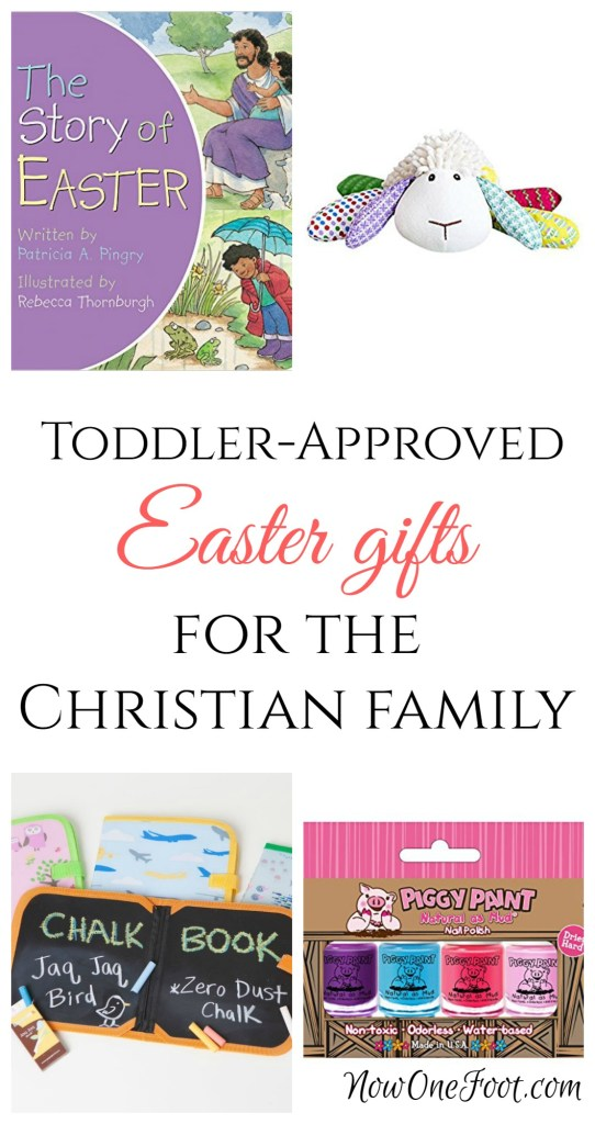 Easter can be a season to get overwhelmed with all the gift options out there. But if you are wanting to keep Easter Christ-centered, there are so many great options out there, even Easter basket ideas for a 2 year old or any young child.