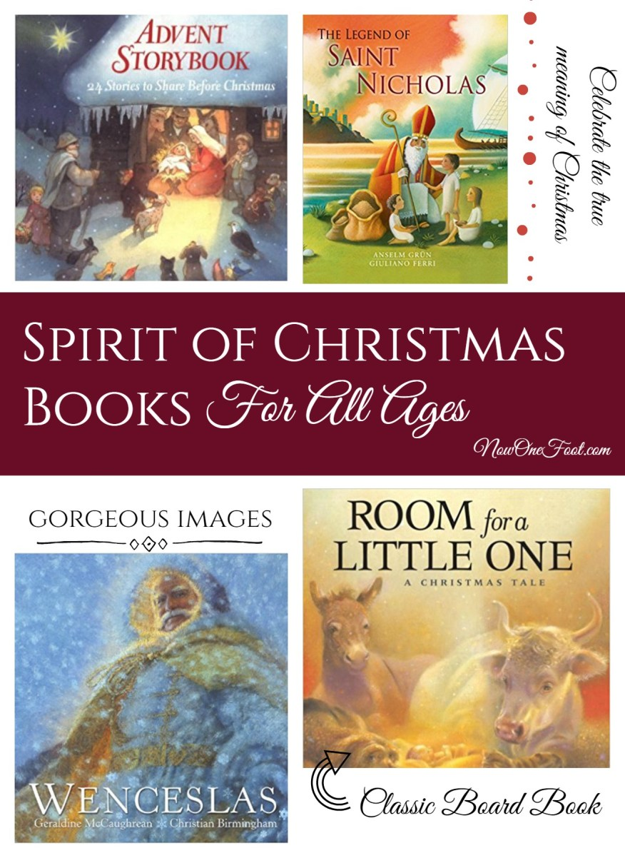 Spirit of Christmas Books for all ages gift list