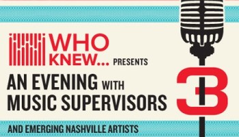 WHO KNEW | The Pitch - An Evening With Music Supervisors