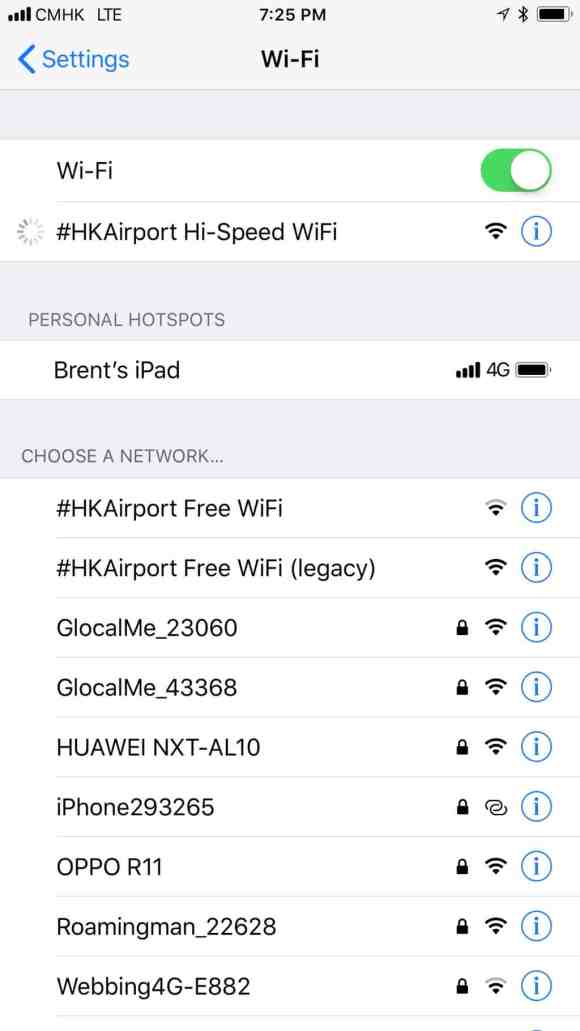 Super fast WiFi comes to the Hong Kong Airport