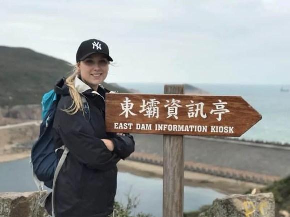 Women on a Hong Kong hike